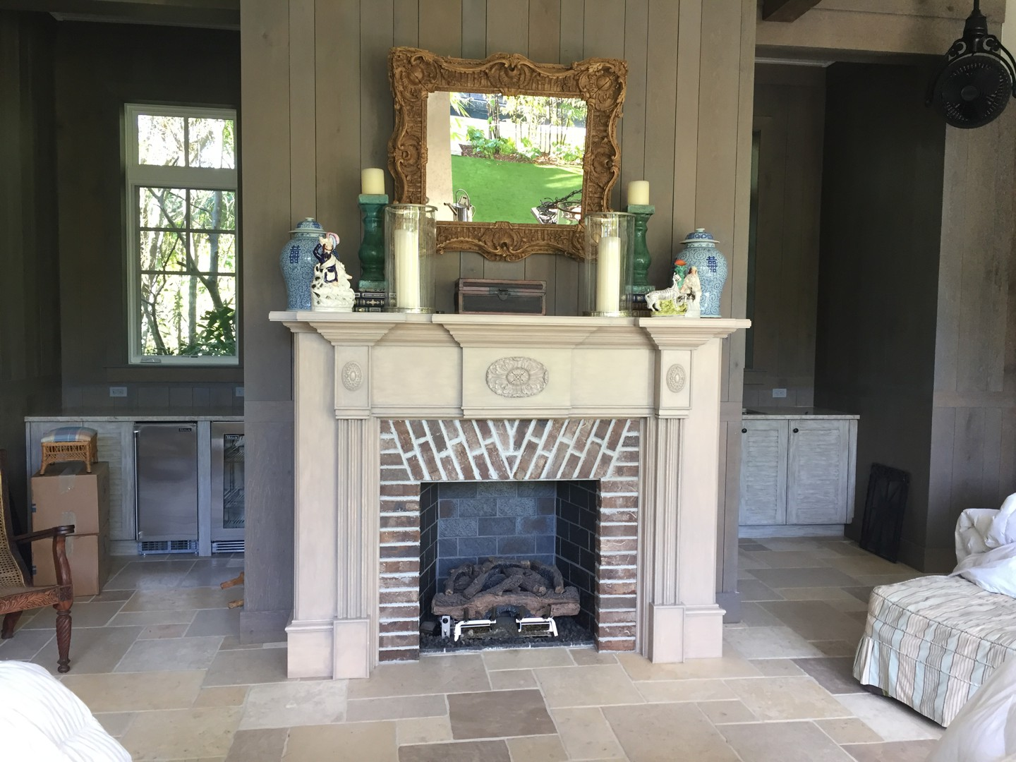 Custom Fire Place Mantel 2